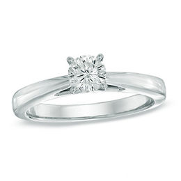 Celebration Lux® 1/2 CT. Diamond Solitaire Engagement Ring in 14K White Gold (I/SI2)