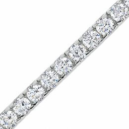 9 CT. T.W. Diamond Tennis Bracelet in 14K White Gold (J/I2)