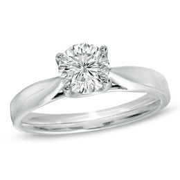 Celebration Grand® 1 CT. Diamond Solitaire Engagement Ring in 14K White Gold (I-J/I1)