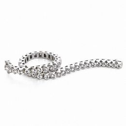 3 CT. T.W. Diamond Tennis Bracelet in 14K White Gold (I/I2)
