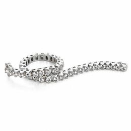 8 CT. T.W. Diamond Tennis Bracelet in 14K White Gold (I/I2)