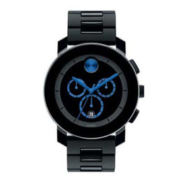 Men's Movado Bold® Blue Chronograph Watch (3600101)
