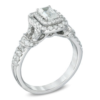 Celebration Grand 174 1 1 6 Ct T W Emerald Cut Diamond