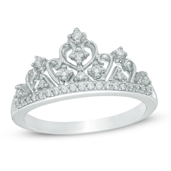 1 5 CT T W Diamond Tiara Ring in Sterling Silver line Exclusives
