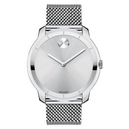 Men's Movado Bold® Watch with Silver Dial (Model: 3600260)