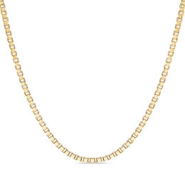 Men's 1.4mm Box Chain Necklace in 14K Gold - 22""