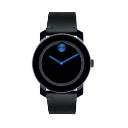 Men's Movado Bold® Strap Watch with Black Dial (Model: 3600307)