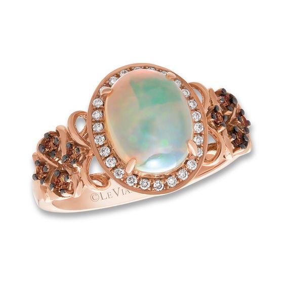 T W Diamond Frame Ring In