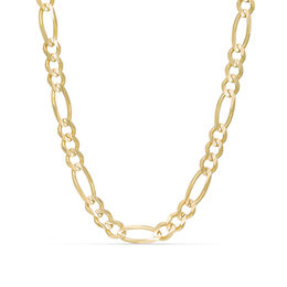 Men's 6.0mm Figaro Chain Necklace in 14K Gold - 30""