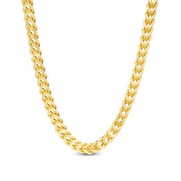 Men's 4.0mm Franco Snake Chain Necklace in 10K Gold - 22""