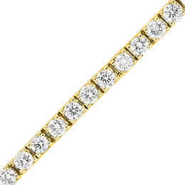 8 CT. T.W. Diamond Tennis Bracelet in 14K Gold  (I/I1)