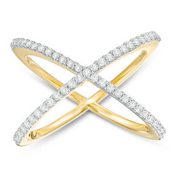 1/3 CT. T.W. Diamond Orbit Ring in 10K Gold