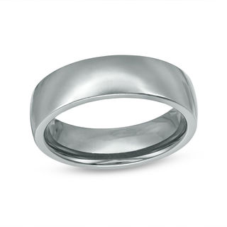 mens 65mm high polished comfort fit wedding band in tantalum size 10