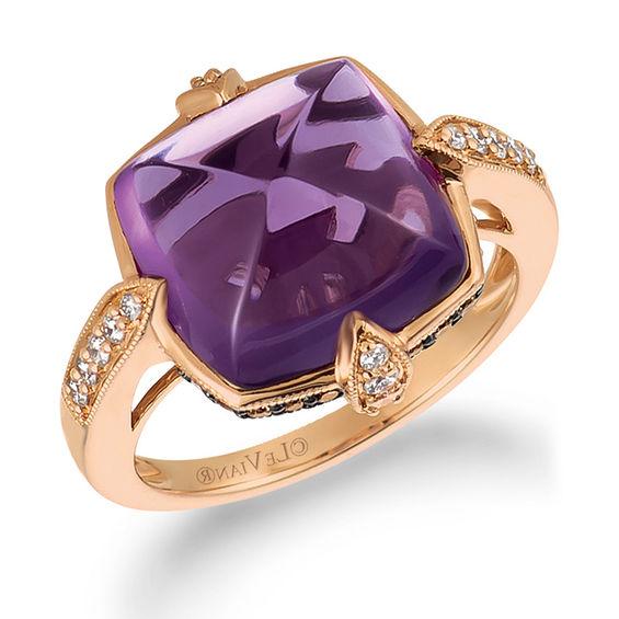 Le Vian Milgrain Diamond Ring