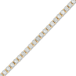 4 CT. T.W. Diamond Tennis Bracelet in 10K Gold