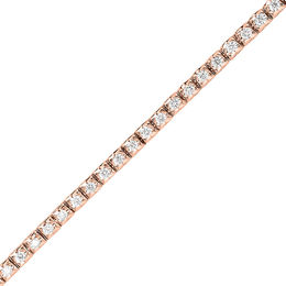 1-1/3 CT. T.W. Diamond Tennis Bracelet in 10K Rose Gold