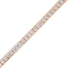 4 CT. T.W. Diamond Tennis Bracelet in 14K Rose Gold