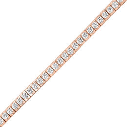 3 CT. T.W. Diamond Tennis Bracelet in 14K Rose Gold