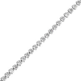 5 CT. T.W. Diamond Tennis Bracelet in 14K White Gold