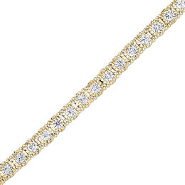 3 CT. T.W. Diamond Tennis Bracelet in 14K Gold