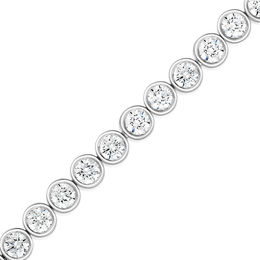 3 CT. T.W. Diamond Tennis Bracelet in 14K White Gold