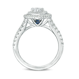 Vera Wang Love Collection 1 Ct T W Heart Shaped Diamond