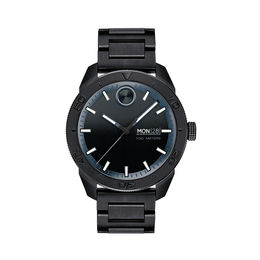 Men's Movado Bold® Sport Black IP Watch (Model: 3600512)