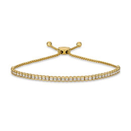 Le Vian® Crème Brûlée Diamonds® 1-1/2 CT. T.W. Diamond Bolo Bracelet in 14K Honey Gold™ - 9.5""