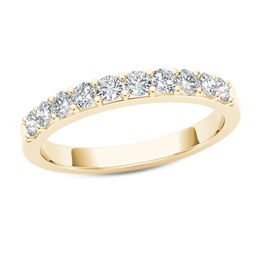 1/2 CT. T.W. Diamond Wedding Band in 10K Gold
