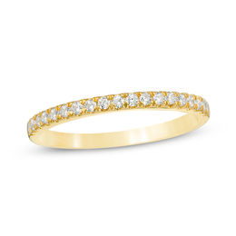 1/4 CT. T.W. Diamond Wedding Band in 10K Gold