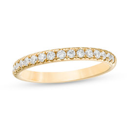 1/2 CT. T.W. Diamond Anniversary Band in 18K Gold (I/SI2)