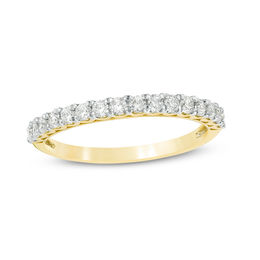 3/8 CT. T.W. Diamond Wedding Band in 10K Gold