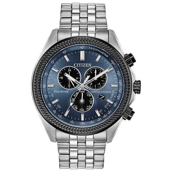 Mens Citizen Eco-Drive® Brycen Chronograph Two-Tone Watch with