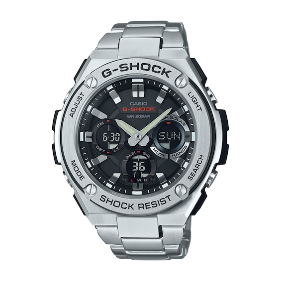 Mens Casio G-Shock G-Steel Watch with Black Dial (Model: Gsts110D