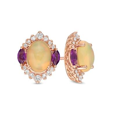 Colorful Earrings  Tree Earrings  Gold Dangle Earrings  Colorful Gem Stone Earrings  Long Earrings  Unique Earrings  Crystal Earrings